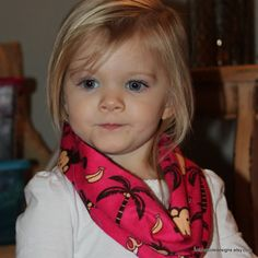 Infant Toddler Infinity Scarf Hot Pink with by mishacoledesigns, $6.50