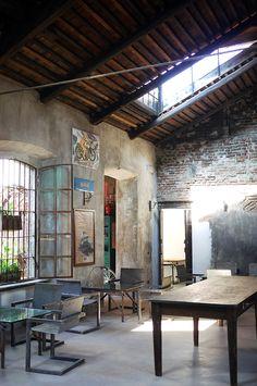 Fonderie Milanesi #negozio #arredo #vintage #milano