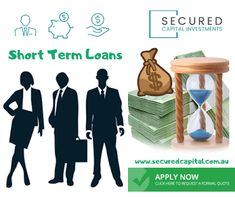 Are you looking for the best lender then you can't miss out on Secured Capital. Short Term Loans, Investing, How To Apply