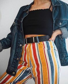 2020292e729c5 love this look - edgy bold daring and fun and carefree Aesthetic Clothes