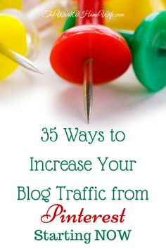 Some top ways to increase your Pinterest traffic starting right now.