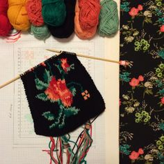 knitty news flash... I have knitted intricate patterns like this. Challenging but beautiful when finished.