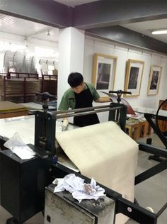 Joseph Peller spent April 2013 at a month-long printmaking residency at the Guanlan Printmaking Base in Guanlan, China. While there, he completed six editions. During his travels, he visited Japan to view the work of Japanese printmakers Hokusai, Hasui, and Hiroshi.