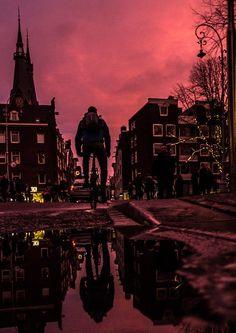 #Sunset #Haarlemmerdijk 22-01-2018 fotocredits to #DaviddeLeeuw