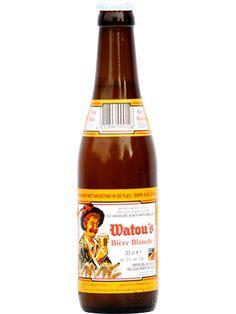 Cerveja Watou's Wit Bier, estilo Witbier, produzida por Brouwerij Van Eecke, Bélgica. 5% ABV de álcool.