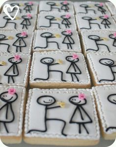 Engagement party cookies :)
