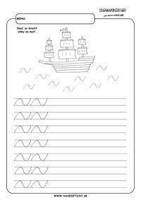 More - grafomotorika - pracovné listy pre deti
