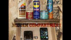 DIY Home Decorations Blog  Shelf With Hidden Compartment (LOCKABLE!)  https://youtu.be/cbS1H7ASwJ0
