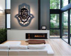 luminaire applique design MAIN de FATMA en version noir concept luminaire en 5 dimensions de chez SAINT YORK DESIGN
