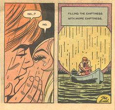 this isn't happiness™ - photo caption contains external link Vintage Pop Art, Vintage Comic Books, Vintage Cartoon, Vintage Comics, Comic Books Art, Comic Art, Book Art, Retro Vintage, Romance Comics