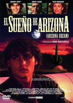 El sueño de Arizona (1992) Francia. Dir: Emir Kusturika. Drama - DVD CINE 327