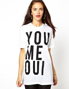 Brashy Couture | Brashy Couture You Me Oui T-Shirt at ASOS