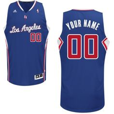 64b996461 Customized Royal Blue Adidas Tailored Fit Design Alternate Men Swingman Los  Angeles Clippers NBA Jerseys Nba