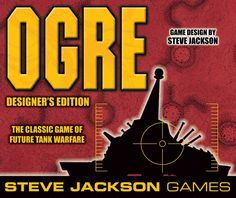 Steve Jackson's first game came out in 1977 & it was OGRE, a dice rolling war game that pitted all of the players against one nearly indestructible tank known as OGRE. Jackson has gone to Kickstarter to bring the game back in a designer box & to make add-ons. Great way to bring back the geeky 80s.