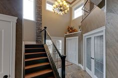 White Eagle Homes Ltd designs and delivers beautiful homes - now building in WestPointe of Windermere Beautiful Home Designs, Beautiful Homes, Windermere, Stairs, House Design, Building, Home Decor
