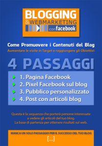 Facebook: come promuovere i contenuti del blog.