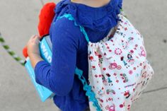 How to Sew A Drawstring Backpack – Pretty Prudent