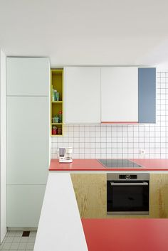 Trend Spotting: Colorblocking in the Kitchen