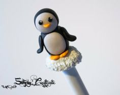 PolyPens (Polymer Clay Pen Sets | Penguin Polymer Clay Pen with Stand