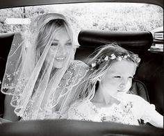 Kate Moss and her daughter