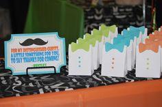 Favors at a Mustache Bash #mustache #bash