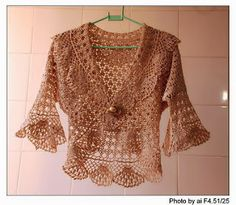 beautiful lace bolero, free crochet patterns in its pages, you'll find fabulous crochet patterns and helpful articles that support its. lace bolero is beautiful Cardigan Au Crochet, Gilet Crochet, Crochet Jacket, Crochet Shawl, Knit Crochet, Lace Sweater, Crochet Sweaters, Crochet Tops, Pull Crochet