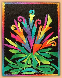 Colourful Art Quilt by Anne Lullie: Gallery 2<3