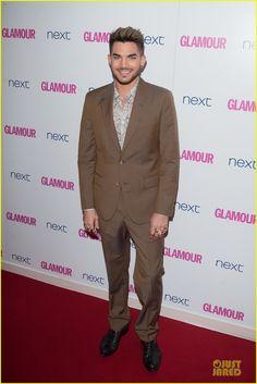 Adam Lambert at Glamour Women of the Year Awards