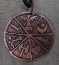 medalha 7 linhas da umbanda
