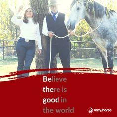Wir setzen uns für eine pferdegerechtere Welt ein: die Professionals von 4my.horse und ihre Community!