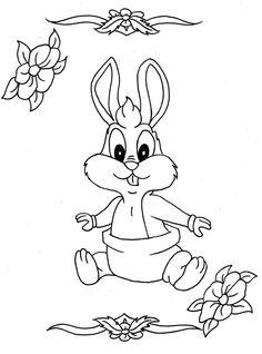 Раскраски-зайцы-зайчата-кролики457.jpg (816×1100)