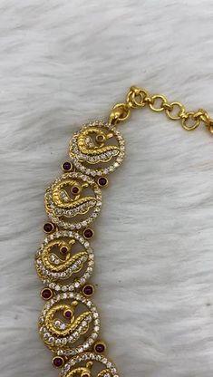 Bead Jewellery, Beaded Jewelry, Jewelery, Silver Wedding Jewelry, Golden Jewelry, Ruby Necklace Designs, Fashion Necklace, Fashion Jewelry, Gold Fashion