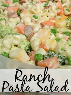 Ranch Pasta Salad Check this out at http://porkrecipe.org/posts/Ranch-Pasta-Salad-55210