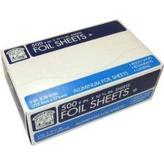 Amazon.com: Aluminum Foodservice Foil Sheets - 500 Count: Home & Kitchen