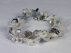 Beaded Bracelet 10 by April Moon Peacock at IndustrialDebris.com