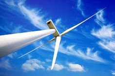 Photo about Wind energy turbine close-up photo, with blue cloudy sky. Image of climate, dioxide, plant - 29908831 Renewable Energy News, Photo Blue, Homestead Survival, Close Up Photos, Small Towns, Solar Power, Wind Turbine, Grid, How To Become