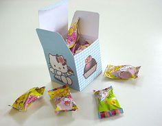 Free printable hello kitty box