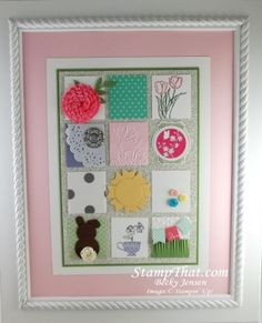 Spring Sampler with Card Stock & Ribbon  Stampin' Up!