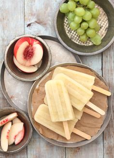 White Sangria popsicles sound amazing when it is 118 degrees everyday during the summer in Yuma...Delicious