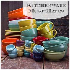 Kitchenware Must-Haves