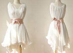 dresses for women summer  dresses in white by YL1dress on Etsy, $79.99