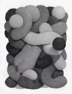 A fun series of bulbous pencil renderings by New Jersey-based illustrator Tim Furey. Character Illustration, Graphic Design Illustration, Graphic Art, Illustration Art, You Draw, Illustrations And Posters, Grafik Design, Art Sketchbook, Design Reference