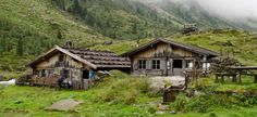 The image is of Gasthof Häusling – Bodenalm, a remote side valley of Zillergrund at the Zillertal Alps Nature Park in Austria. The buildings are pasture huts located at 1,670 m. In 1976, an avalanche destroyed by several of the huts. A mountain chalet and another hut were rebuilt. The huts are about a 2 hour hike from Gasthaus Hausling.  The park is open for hiking from the end of June through the beginning of September. They are owned by local farmers. Two of the cottages are in use. At the…