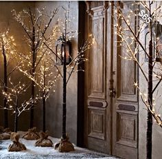 Lighted Entryway