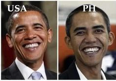 Filipino Obama. Funny Pictures, Filipino Funny, Tagalog, Pinoy Humor pinoy jokes #pinay #Philippines #funny #pinoyjoke #funnyphoto