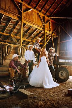 Western...love this photo choice Id so would do mine like this...