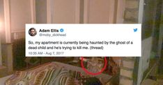 """Dear David"" was a ghost story written by Adam Ellis, who published it on Twitter. Whether or not the story is true has been hotly debated, but it is a prime example of how to write an engaging tale that makes it ripe for virality"