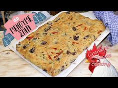 Focaccia Greek style by Grandpa Tassos Phyllo Dough Recipes, Greek Cooking, Banana Bread, Healthy Eating, Pizza, Sweets, Snacks, Desserts, Youtube