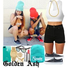 Turquoise Popular Vans, created by fashionsetstyler on Polyvore