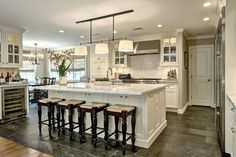 french country kitchens in raised ranches | ... Ranch Style Home Gets A Masterful Renovation with French Country Flair